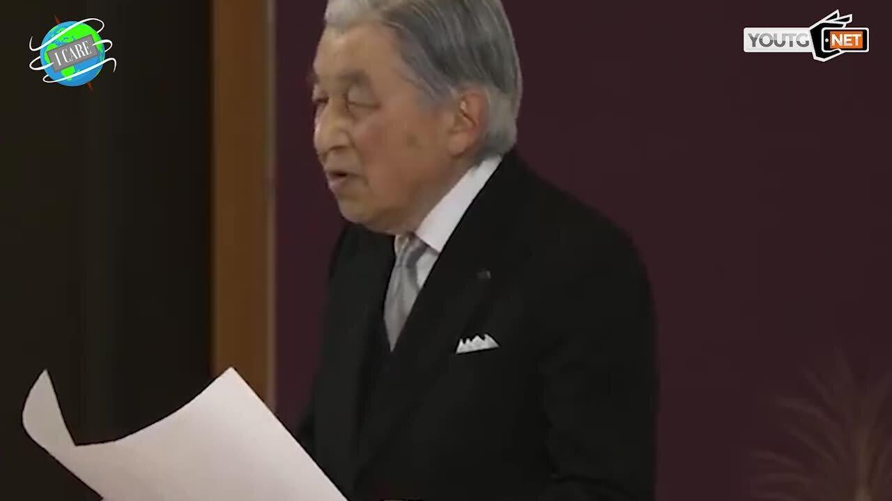 In Giappone abdica l'imperatore Akihito