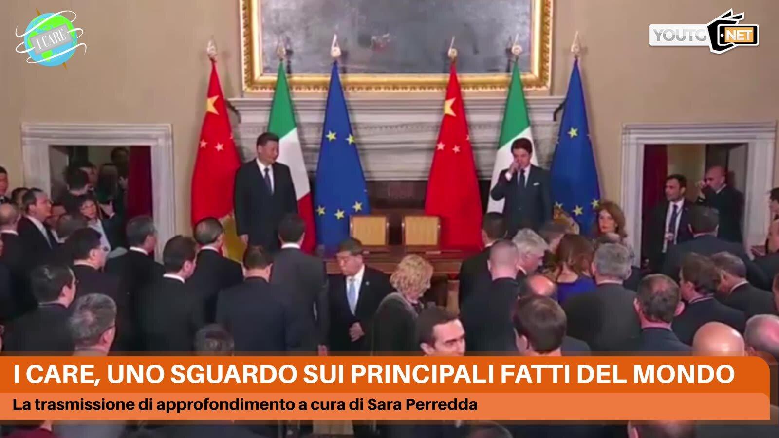 Cina e Italia firmano uno storico memorandum